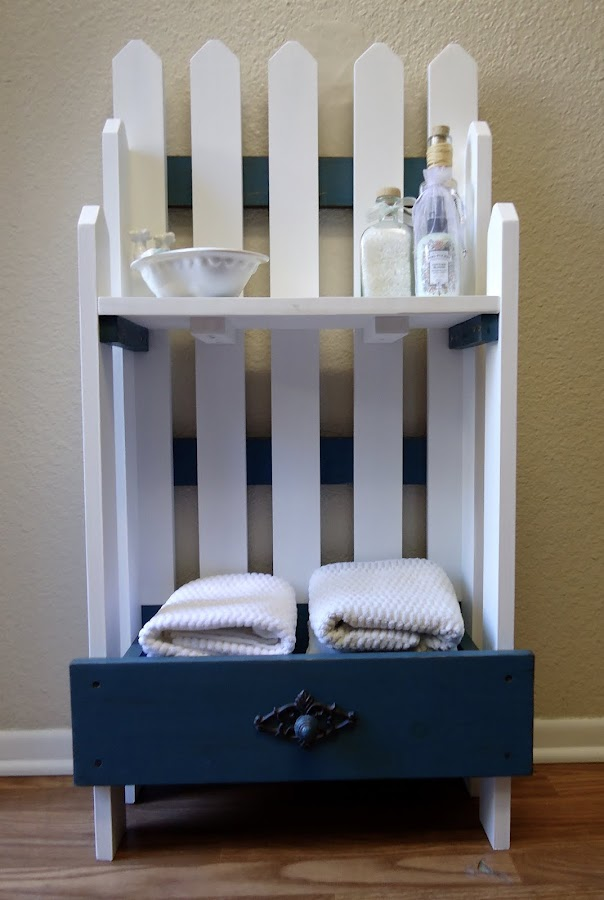 Picket Fence Etagere - Available $150