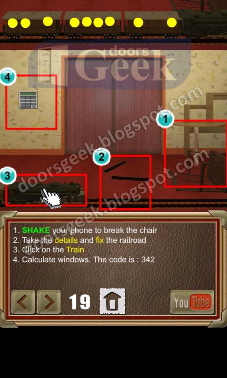 100 doors of revenge level 19 doors geek for 100 door of revenge