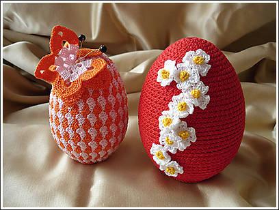 Idee per la pasqua le uova ad uncinetto - Idee per decorare uova di pasqua ...