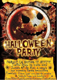 Fiesta de hallowen en Santa CRuz en discoteca Traffic disco