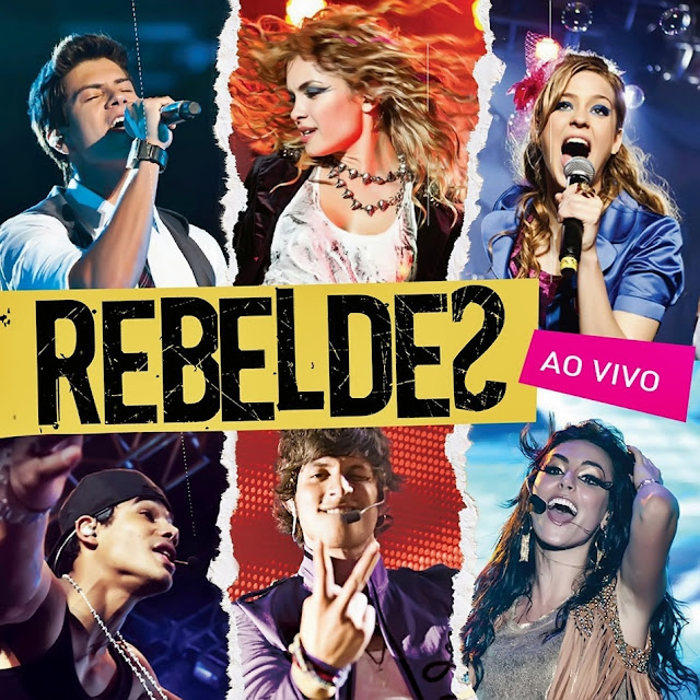 Capa do álbum Rebeldes – Ao Vivo (2012)