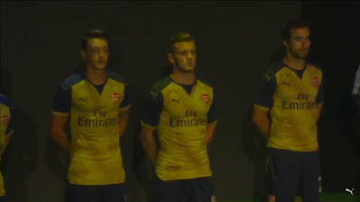 Arsenal Away Jersey 2015/2016