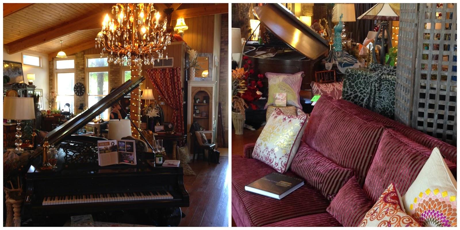 antiques and furniture at 21 Main, Salado TX