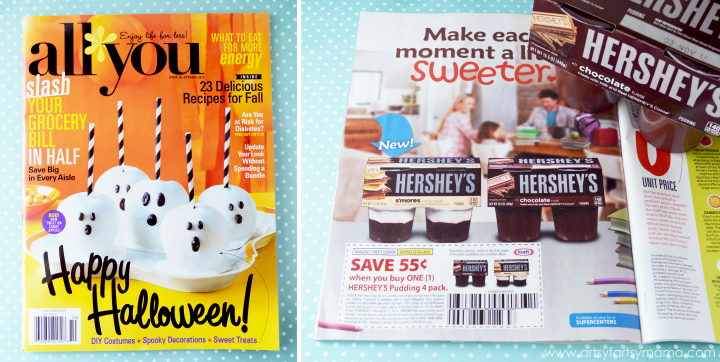 Save 55¢ on Hershey's Pudding Packs in All You Magazine