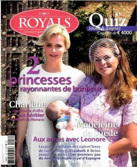 baptême princesse Leonore, un bébé pour Charlène de Monaco
