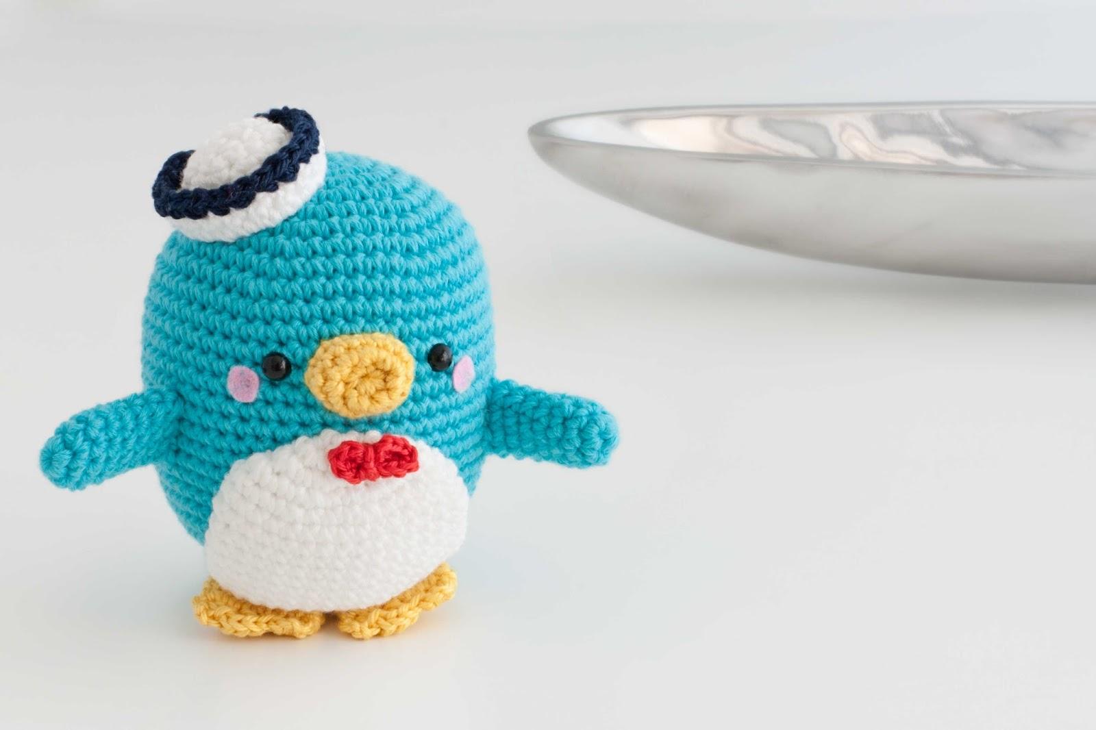 Vistoso Ganchillo Patrón Del Sombrero Del Pingüino Colección de ...