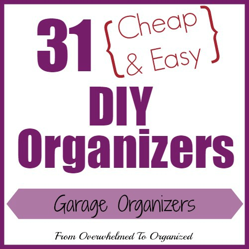 quick and cheap garage organizing ideas - Day 30 Garage Organizers 31 Cheap & Easy DIY Organizers