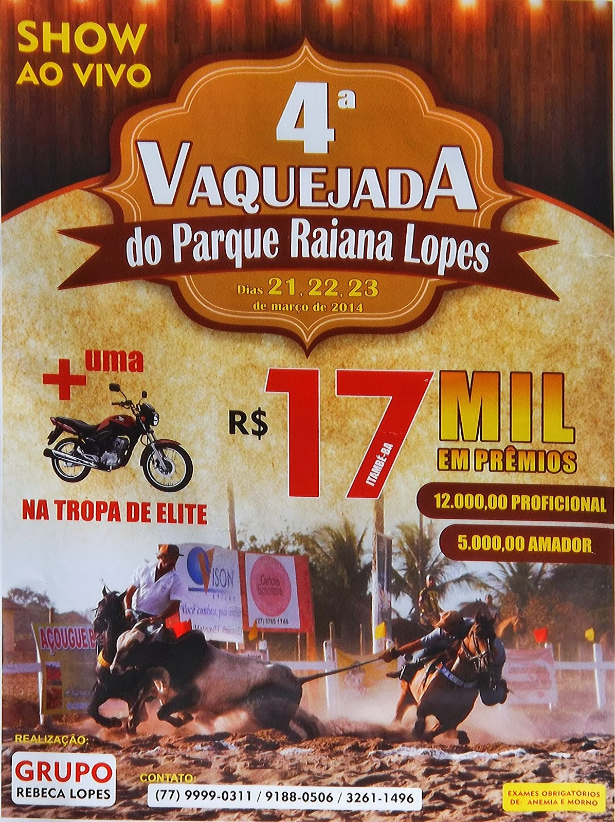 4º Vaquejada do Parque Raiana Lopes