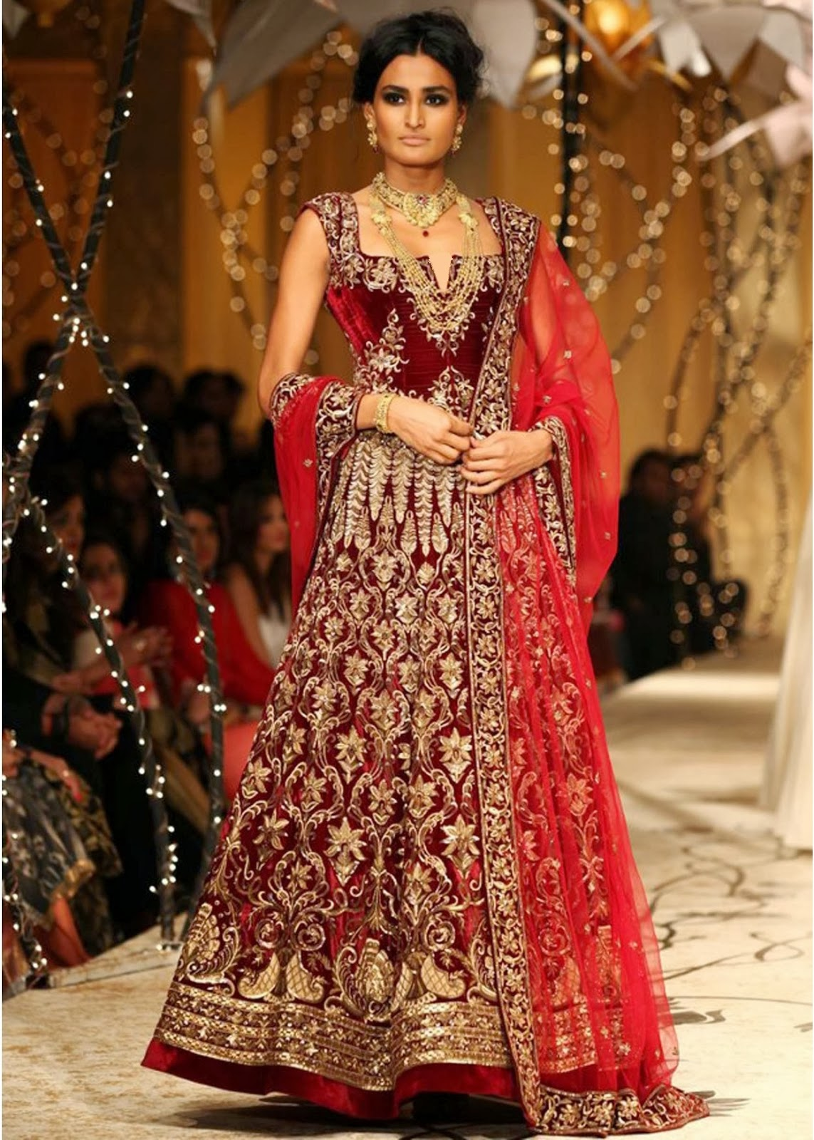 Rohit Bal Show At Amby Valley India Bridal Fashion Week