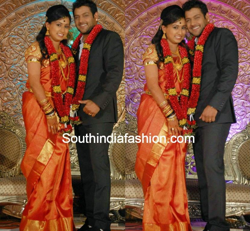 spoorthi suresh vishwas marriage photos