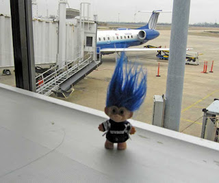 Troll at Little Rock Airport