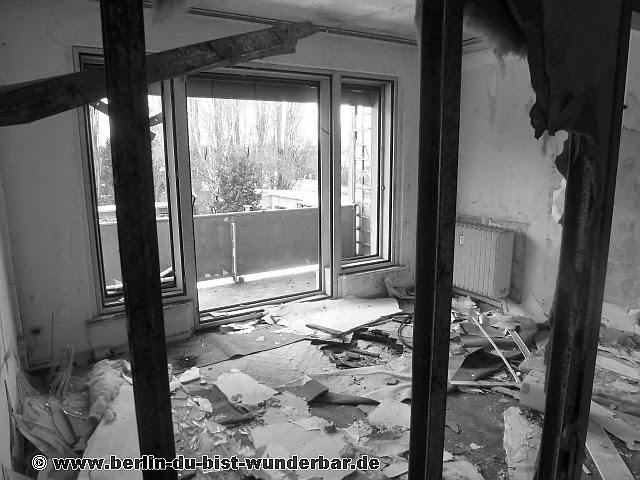 verlassene, Bürohaus, leer, Gebäude, Kurt-Schumacher-Platz