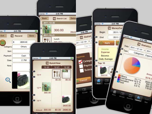 Customized iPhone finance app