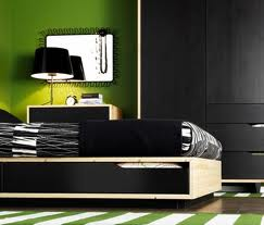 inspiring-bedrooms-design-black-and-green-bedrooms