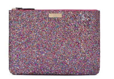 Kate Spade, Kate Spade pouch, Kate Spade Gia, Kate Spade Glitterball Gia, Kate Spade giveaway, giveaway