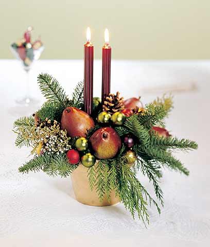 C mo decorar tu mesa de centro en navidad decorando mejor for Centro mesa navidad
