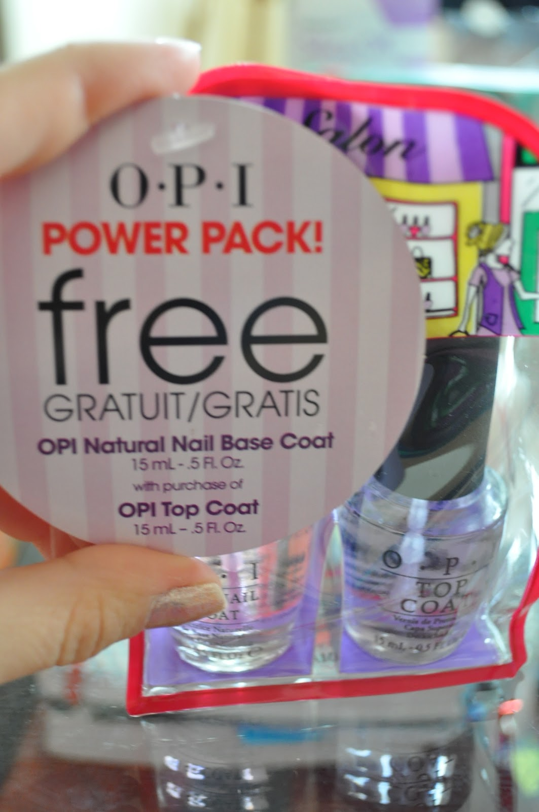 Nice Opi Natural Nail Strengthener Opinie Crest - Nail Polish Ideas ...