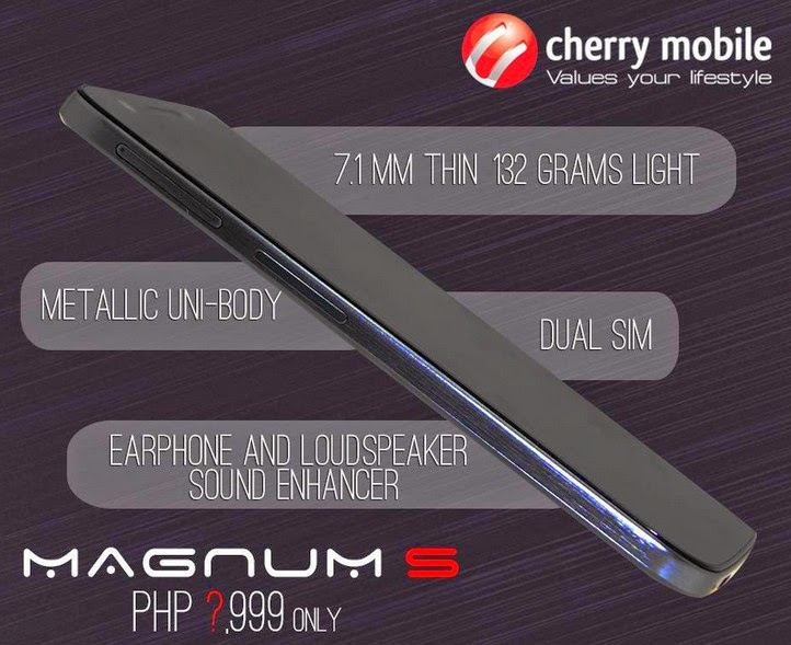 Cherry Mobile Magnum S, Cherry Mobile Magnum S Octa Core
