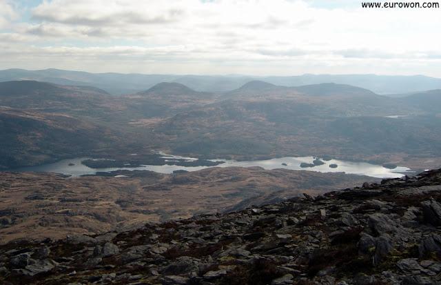 Vista del Parque Nacional de Killarney desde Stoompa