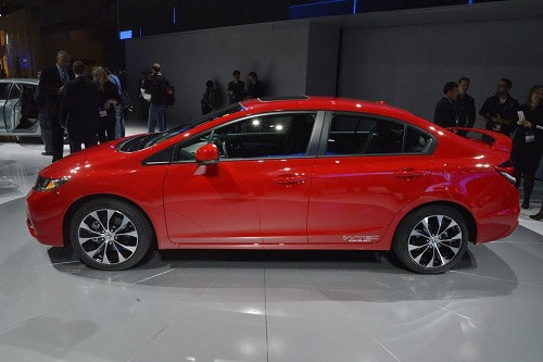 2013 Honda Civic facelift