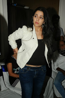 Actress Charmi Kaur Pictures in Jeans at One by Two Movie Celetes 20 Years Event  0108.jpg
