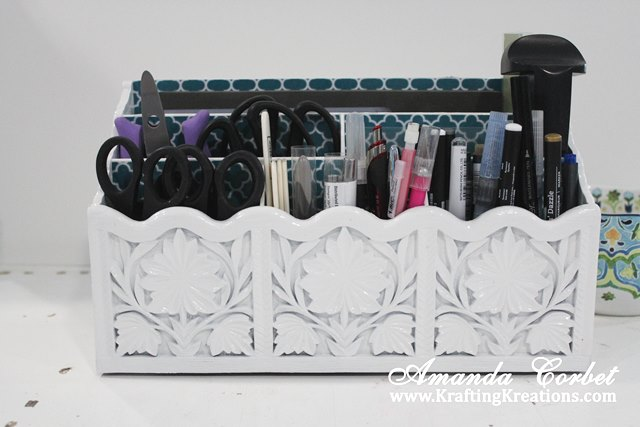 Diy Desk Organizer Tutorial