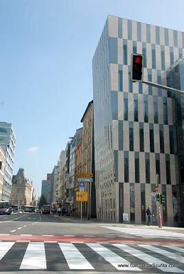 pe strada in luxemburg