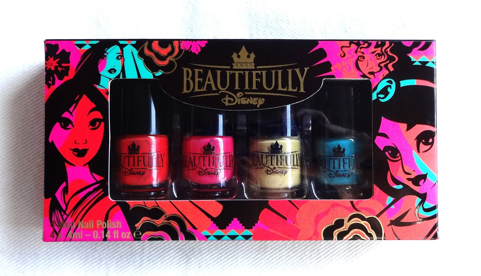 Beautifully Disney Fiery Spirit Nail Polish Set