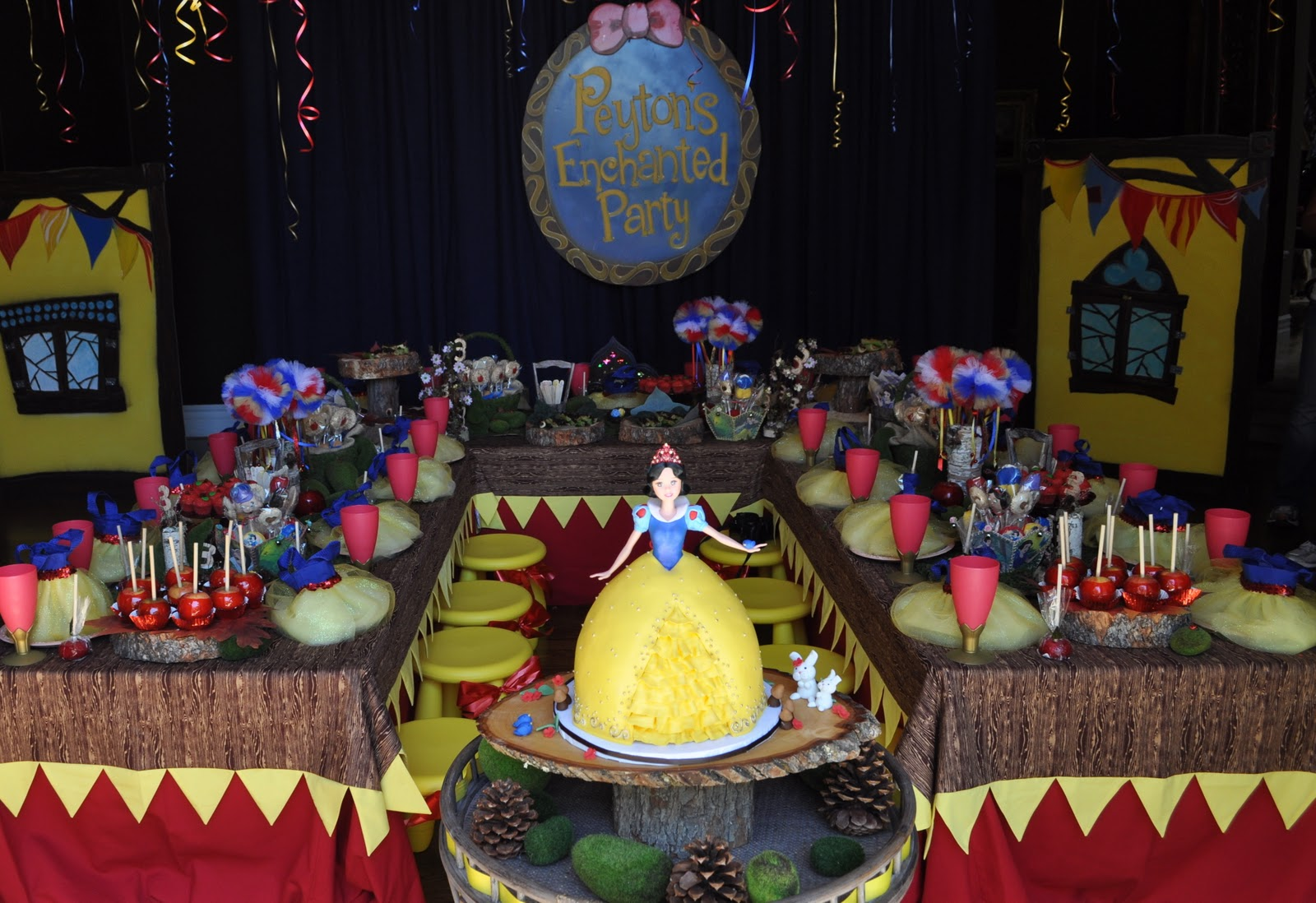 A Woodland Snow White Party