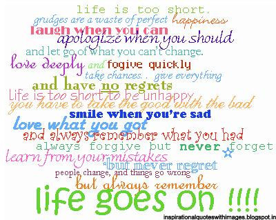 life is short quotes with pics images