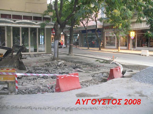 Προεκτάσεις πεζοδρομίων για καφετέριες με ανοχή δημοτικής αρχής