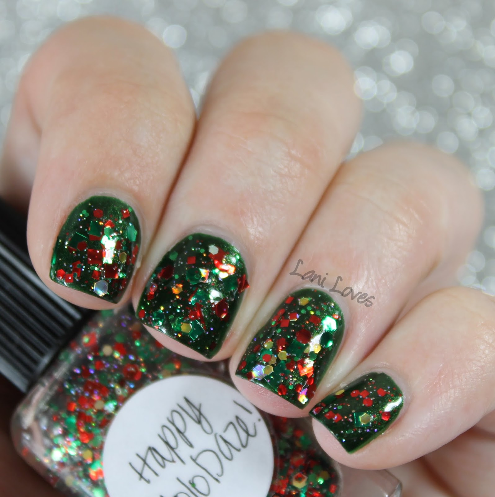 Lynnderella Happy HoloDaze! nail polish swatch