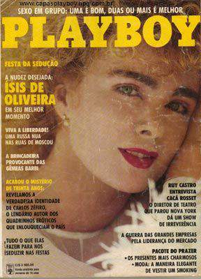 Ísis de Oliveira - Playboy 1991