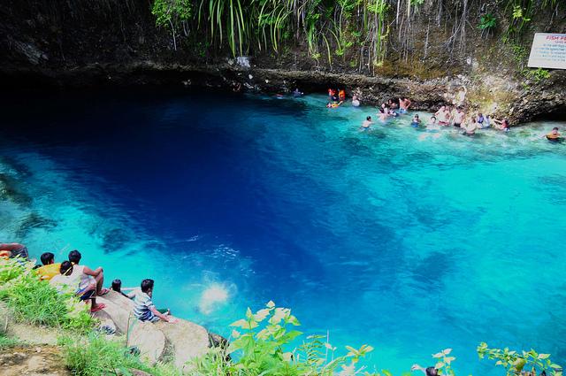 Mela verde news le piscine naturali pi belle del mondo - Isola di saona piscine naturali ...