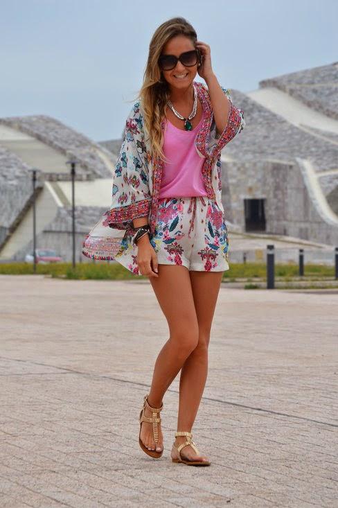 Wearing a Summer Kimono Cardigan