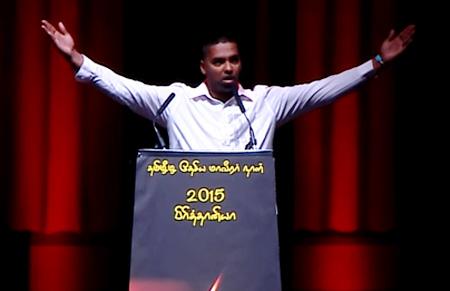 Thesiya Maveerar Naal 2015 – TCC Speech (Gobi Sivanthan)