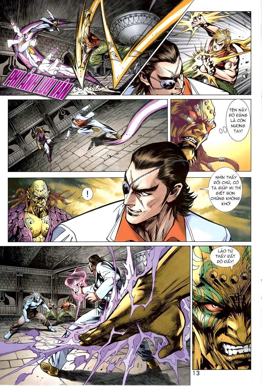 Tân Tác Long Hổ Môn chap 819 Trang 13 - Mangak.info