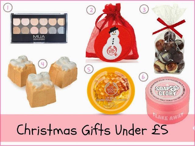 Christmas Gifts Under £5