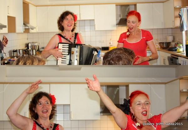 Yvet Ann und Carla da Silva, Jiddische Chansons