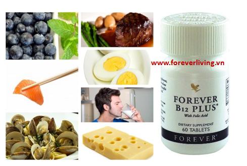 Forver B12 Plus giúp duy trì sức khỏe của các dây thần kinh và các tế bào khác