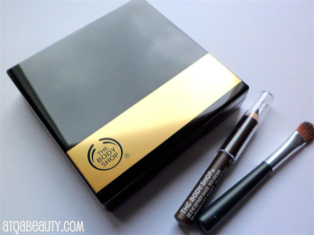 The Body Shop, 4-Step Smoky Eyes, 02 Golden Brown