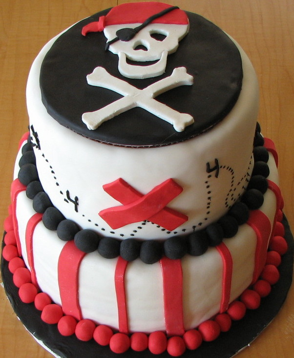 pirate cake image