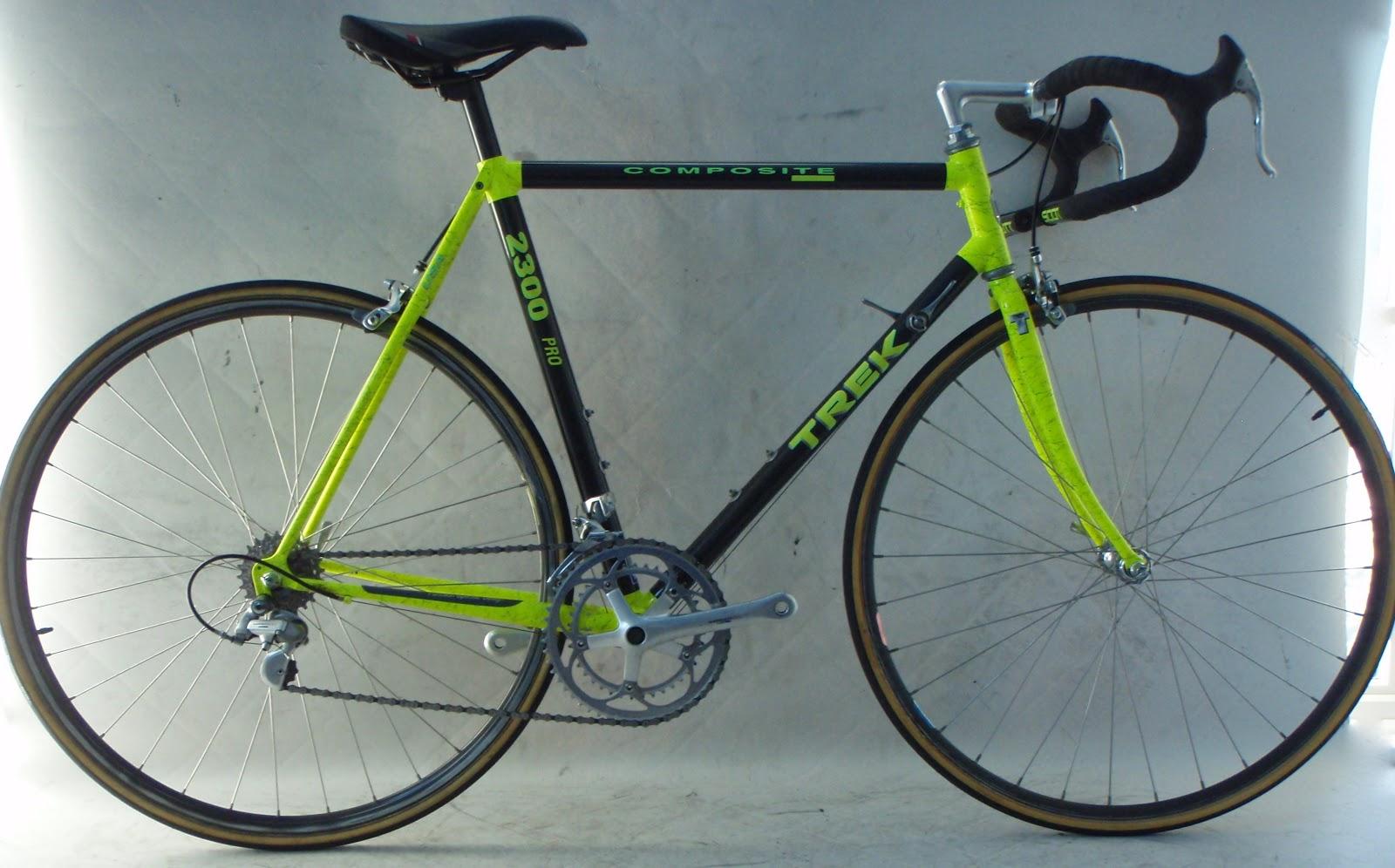 Frame and Wheel Selling Services: Vintage 1991 Trek 2300 Pro 54cm ...