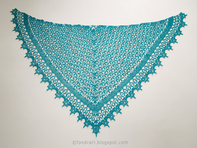 Miðsumarnætursjal - Midsummer Night's Shawl