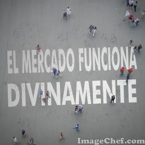 """HAY COMPETENCIA PERFECTA ENTRE DOS  """"MANOS INVISIBLES"""", LA DIVINA Y LA HUMANA"""