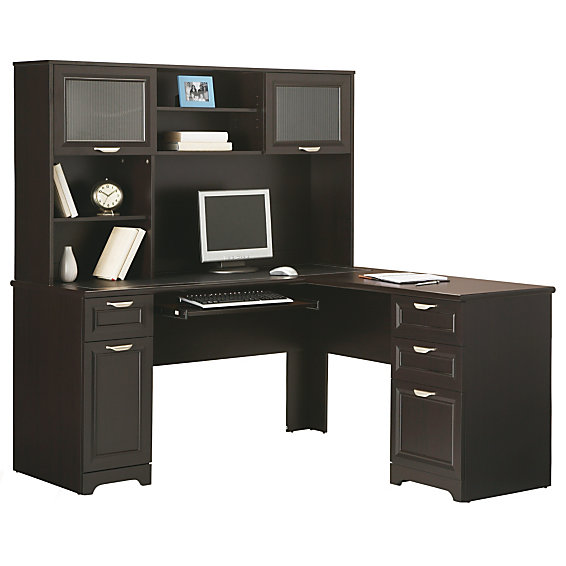 Realspace Magellan Collection L Shaped Desk Matching Hutch Various Colors Free