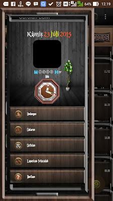 BBM MOD Dark Wood Themes 2.9.0.49 APK