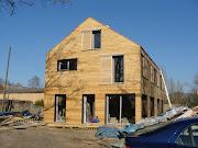 Maison bois chantier chape maison bois
