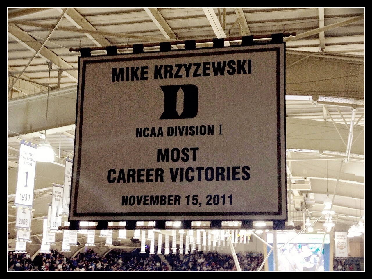 Coach K has the most wins of any coach in college basketball