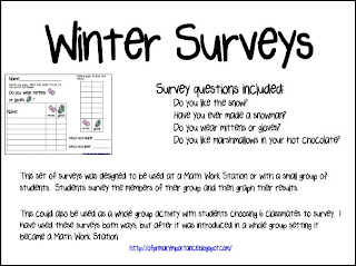 ... . Inspire. Innovate.: Correction and Winter Surveys (with a freebie